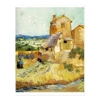 Cartão Postal Vincent van Gogh (1853-1890) - o moinho velho