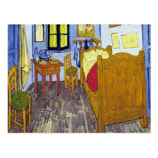 Cartão Postal Vincent van Gogh 1888 o quarto em Arles