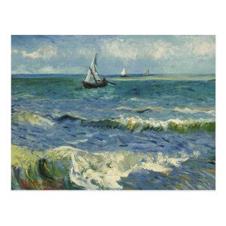 Cartão Postal Vincent van Gogh - Seascape perto de Les Saintes
