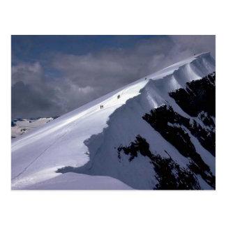 Cartão Postal Vinda em torno da montanha