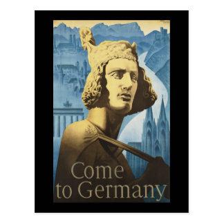 Cartão Postal Vindo a Alemanha