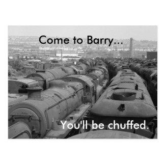 Cartão Postal Vindo a Barry