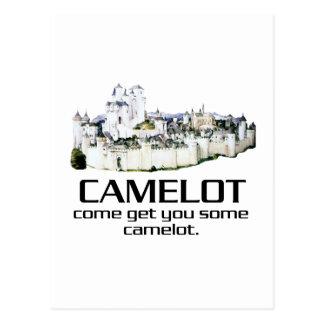 Cartão Postal Vindo obtenha-lhe algum Camelot.