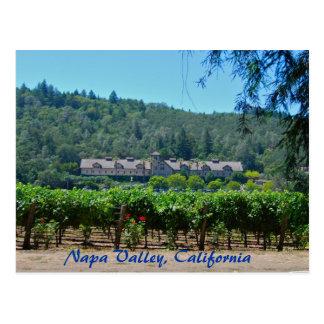 Cartão Postal Vinhedo de Napa Valley Califórnia
