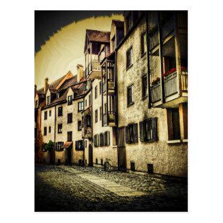 Cartão Postal Vinheta do Streetscape
