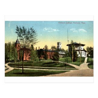 Cartão Postal Vintage 1912 das MÃES da faculdade de Amherst