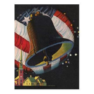 Cartão Postal Vintage 4o julho