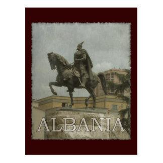 Cartão Postal Vintage Albânia