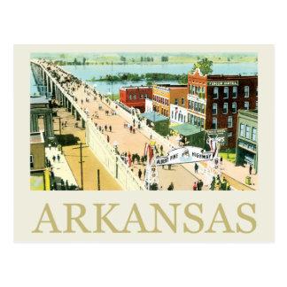 Cartão Postal Vintage Arkansas