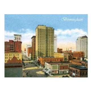 Cartão Postal Vintage Birmingham
