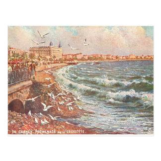Cartão Postal Vintage Cannes France