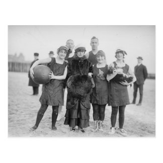Cartão Postal Vintage Coney Island
