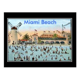 Cartão Postal Vintage de Miami Beach