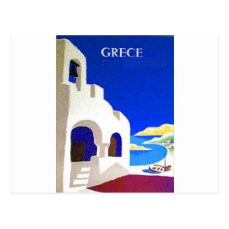 Cartão Postal vintage do grece