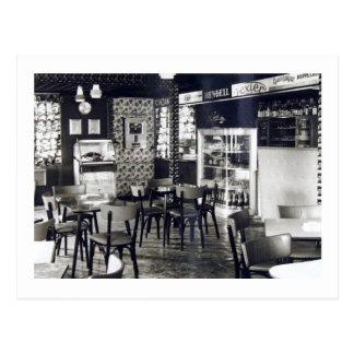 Cartão Postal Vintage do jukebox do bar do clube de Henry