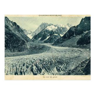 Cartão Postal Vintage France Chamonix Mont Blanc