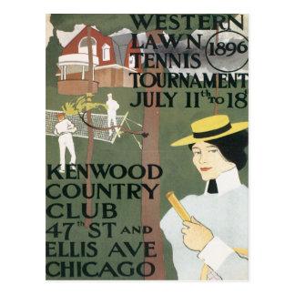 Cartão Postal Vintage Kenwood Chicago