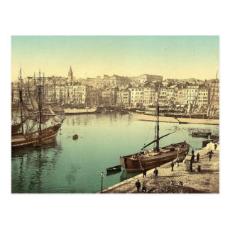 Cartão Postal Vintage Marselha, France -