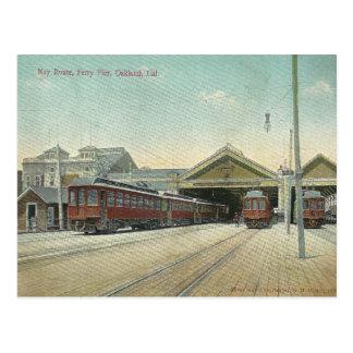 Cartão Postal Vintage Oakland Califórnia