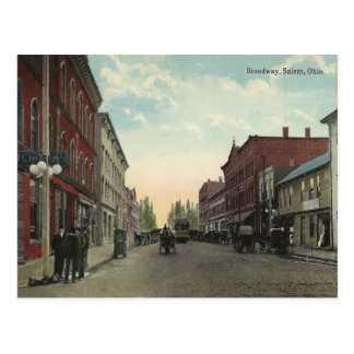 Cartão Postal Vintage Salem Ohio