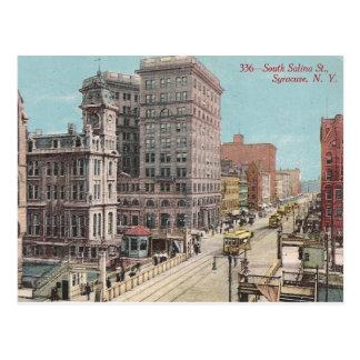 Cartão Postal Vintage Siracusa NY