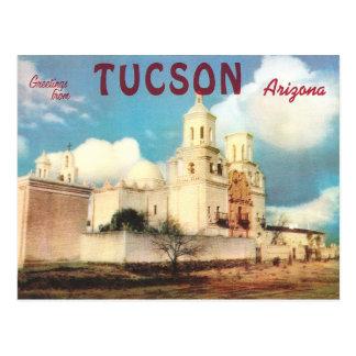 Cartão Postal Vintage Tucson