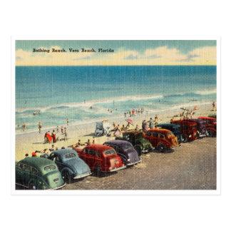 Cartão Postal Vintage Vero Beach, Florida