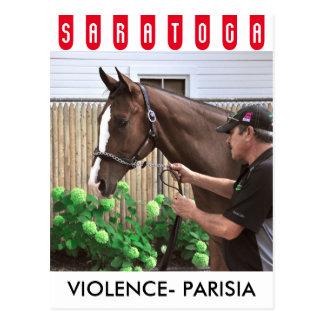 Cartão Postal Violência - Parisia