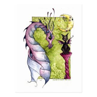 Cartão Postal Violette e obsidiana