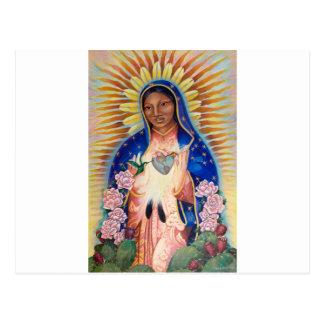 Cartão Postal Virgem Maria - nossa senhora Guadalupe