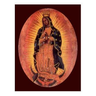 Cartão Postal Virgin de Guadalupe