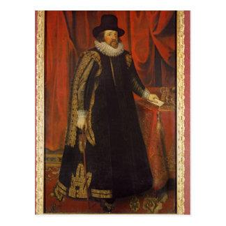 Cartão Postal Visconde do senhor Francis Bacon de St Albans