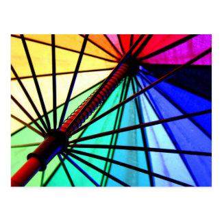 Cartão postal viseira Multicolor