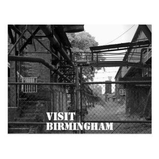 Cartão Postal Visita Birmingham