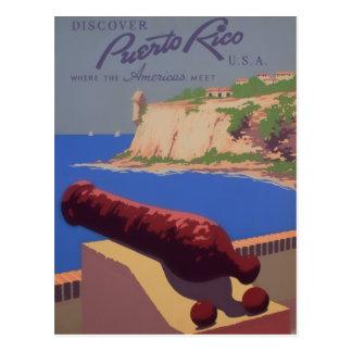 Cartão Postal Visita Puerto Rico