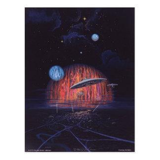 Cartão Postal Visitação da noite