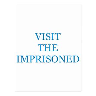 Cartão Postal Visite encarcerado