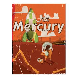 Cartão Postal Visite os desenhos animados da ficção científica
