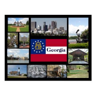 Cartão Postal Visões de Geórgia