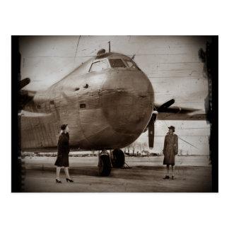 Cartão Postal Vista acima no bombardeiro