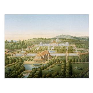 Cartão Postal Vista aérea da casa de campo do rei Guilherme de