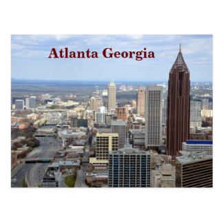 Cartão Postal Vista aérea de Atlanta, Geórgia