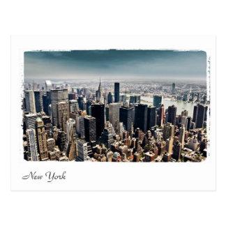 Cartão Postal vista aérea de New York