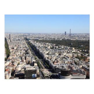 Cartão Postal vista aérea de PARIS 3