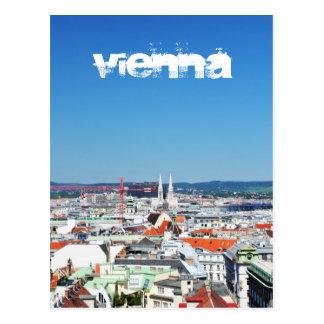 Cartão Postal Vista aérea de Viena, Áustria