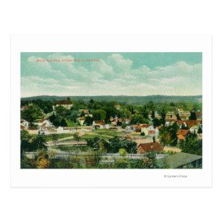 Cartão Postal Vista aérea do CityPaso Robles, CA