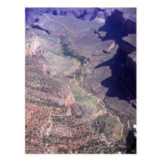 Cartão Postal Vista aérea do Grand Canyon na arizona