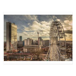 Cartão Postal Vista da biblioteca de Birmingham