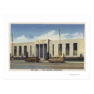 Cartão Postal Vista da câmara municipal