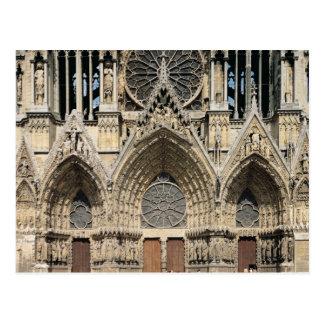 Cartão Postal Vista da fachada, 13o-14o século